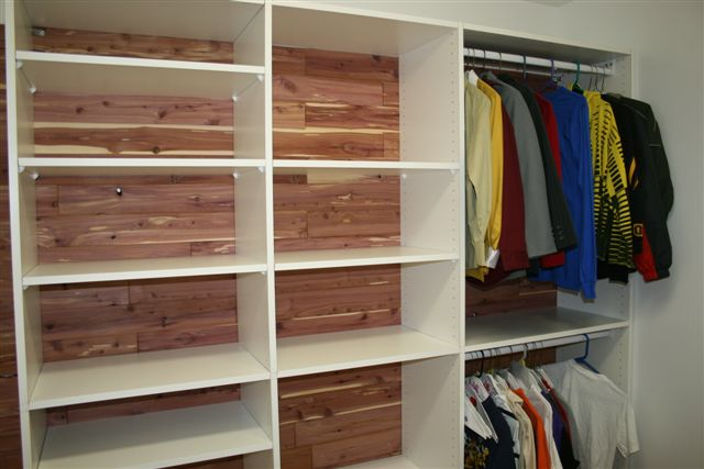 Closet Organizer I built with the Tracksaw.