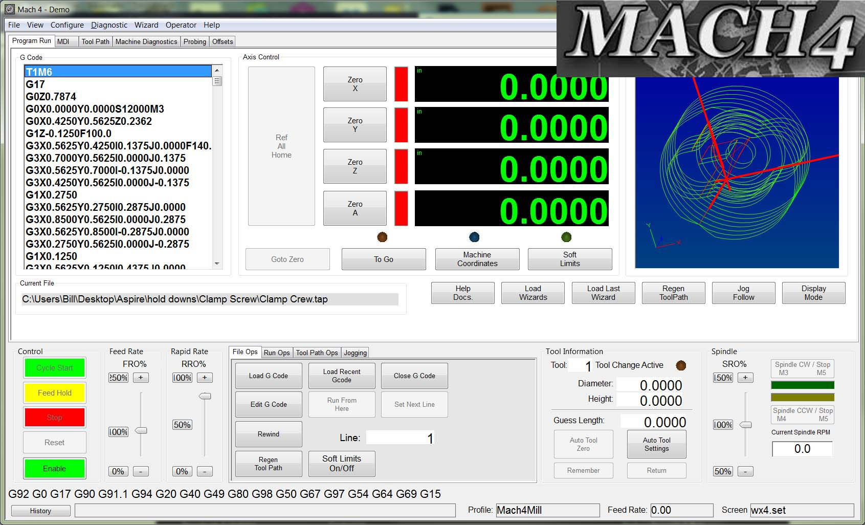 THE MAKERS GUIDE MACH4 CNC CONTROLLER SOFTWARE - THE MAKERS
