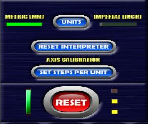 Set Steps per unit