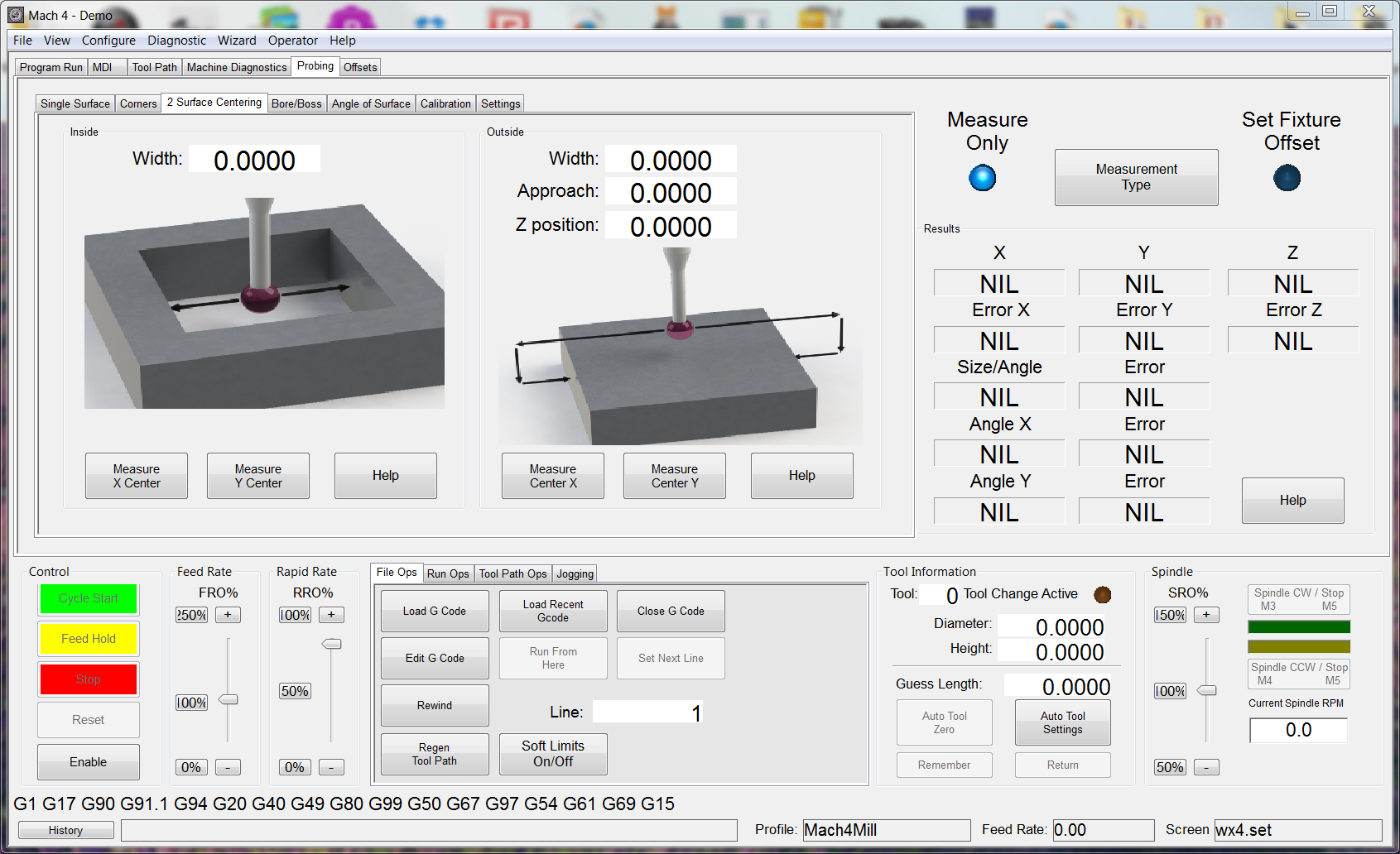 Mach3 cnc control software for windows 32 bit systems - Mach4 2_2_surface_probe