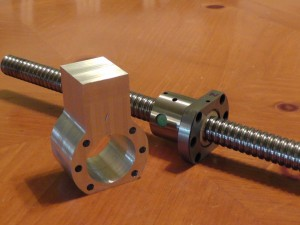 ballscrew mount #cnc